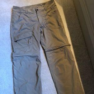 Columbia women's zip off pants